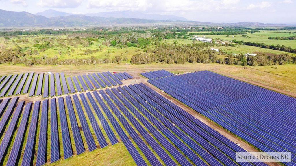 Centrale photovoltaïque au sol Hélio Boulouparis