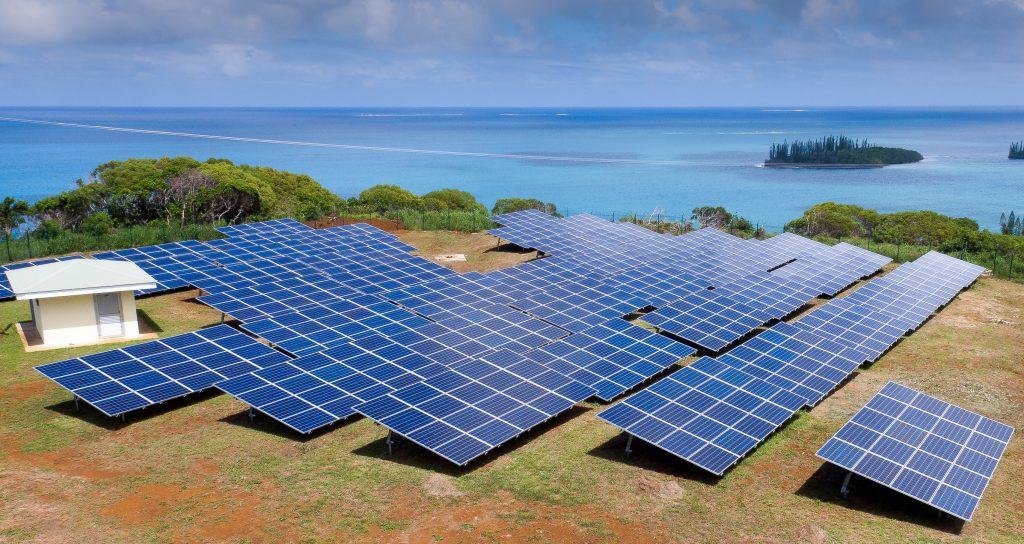 Ferme solaire Mwiré Ile des Pins Enercal Sunzil 2015
