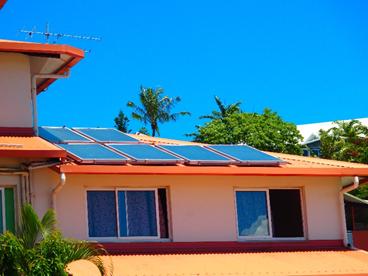 Installation PV toiture dans le quartier de N'Gea Tuband STENC 2016