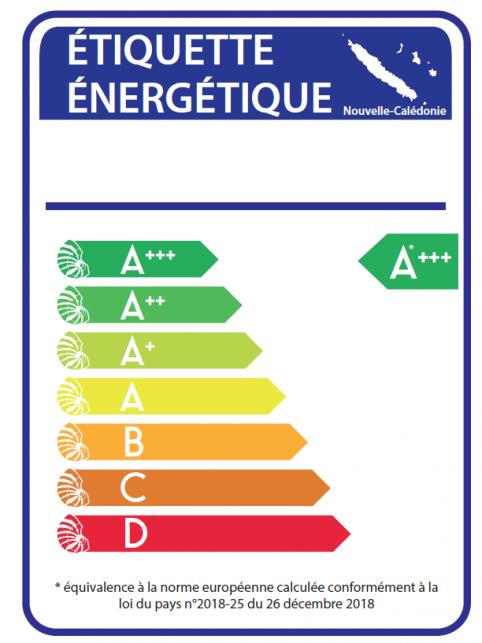 Étiquette énergétique calédonienne